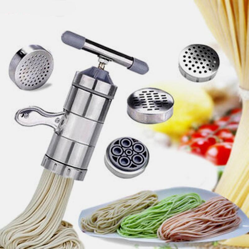 5 Mode Stainless Steel Pasta & Noodle Maker-Pasta Maker-Chef's Quality Cookware