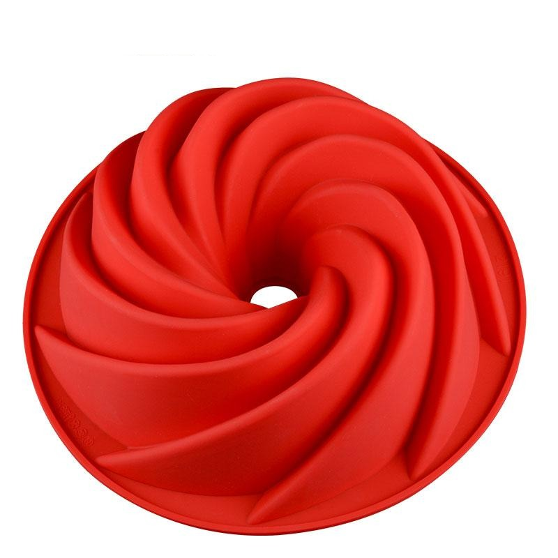 Swirl Bundt Cake Tin - Silicone Baking Mould