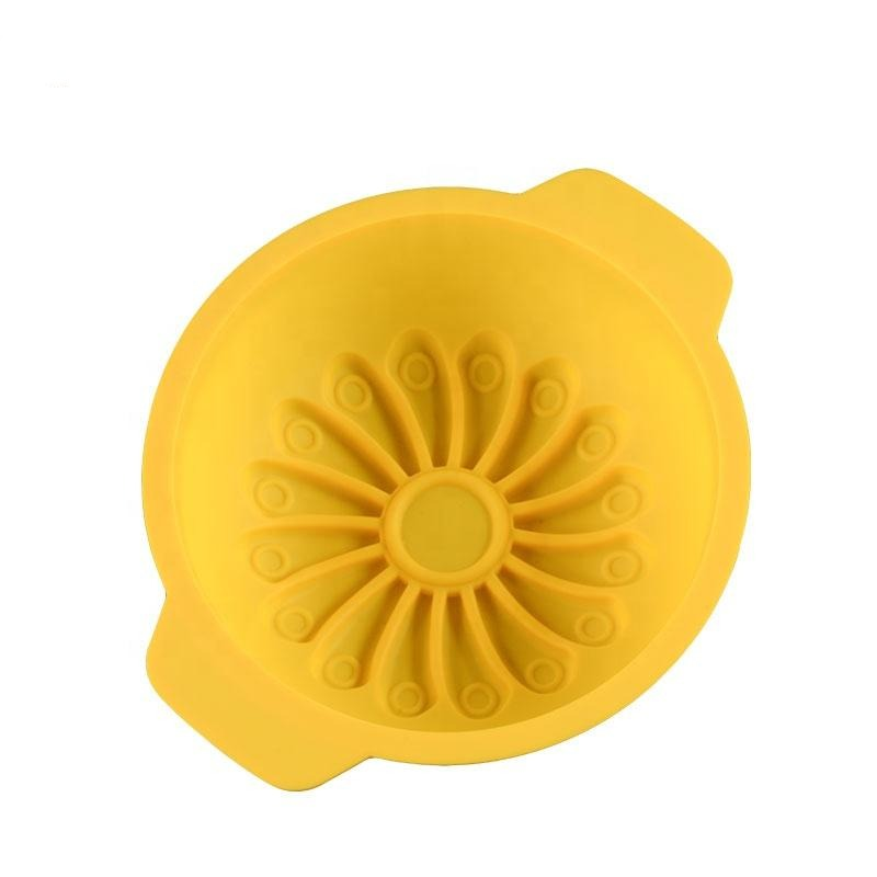 Sunflower Cake Tin - Silicone Baking Mould