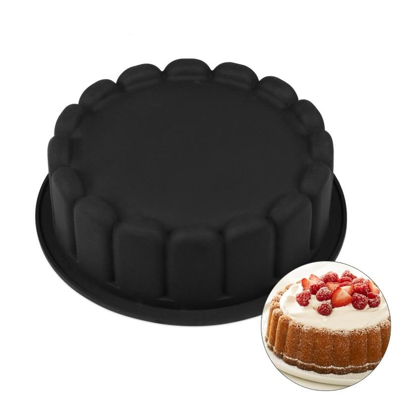 Birthday Cake Tin - Silicone Baking Mould