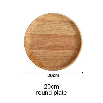 Beechwood Handmade Serving Dishes-Plate-Chef's Quality Cookware
