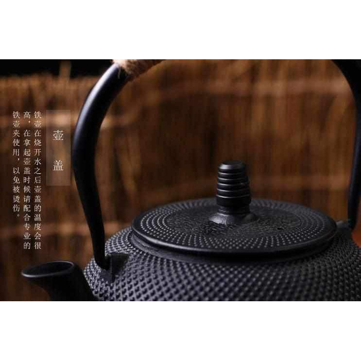 Cast Iron Teapot with Stainless Steel Infuser-Teapot-Chef's Quality Cookware