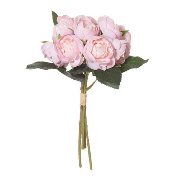Cluster Rose Bouquet - Artificial Flower Arrangement-artificial flowers and plants-Chef's Quality Cookware
