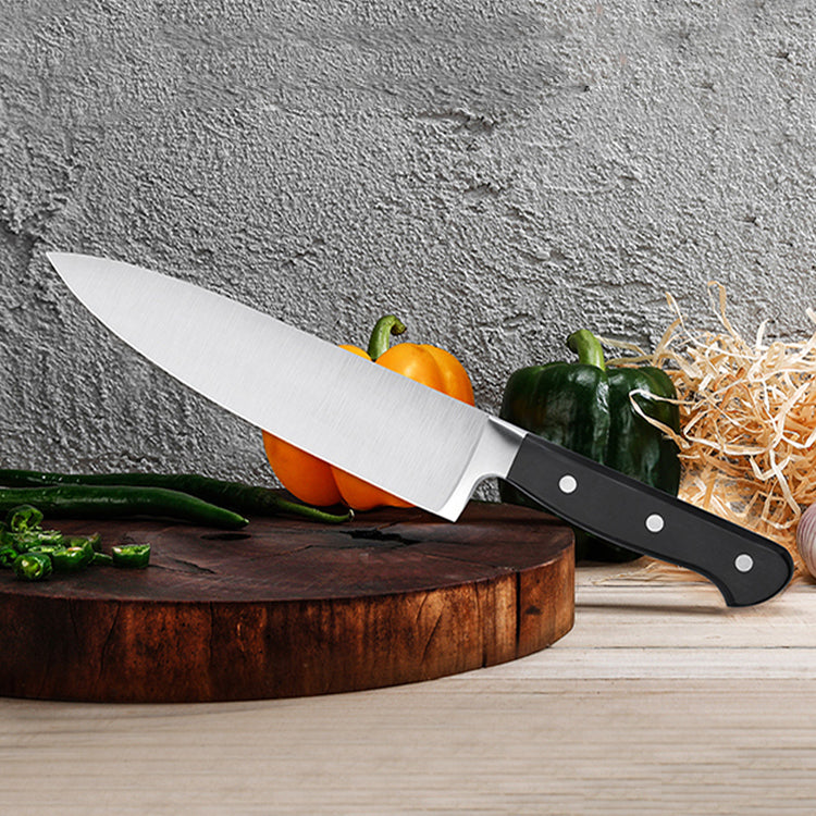 Cook's Chef Knife 200mm - Black Handle