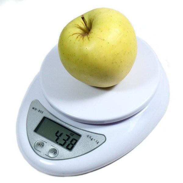 Digital Kitchen Food Scale 1g - 5kg Weight-Cooking Tools-Chef's Quality Cookware