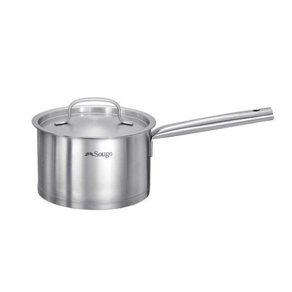 Induction Cookware Set - Stainless Steel Casserole, Saute Pan and Saucepan-Stainless Steel Cookware Set-Chef's Quality Cookware