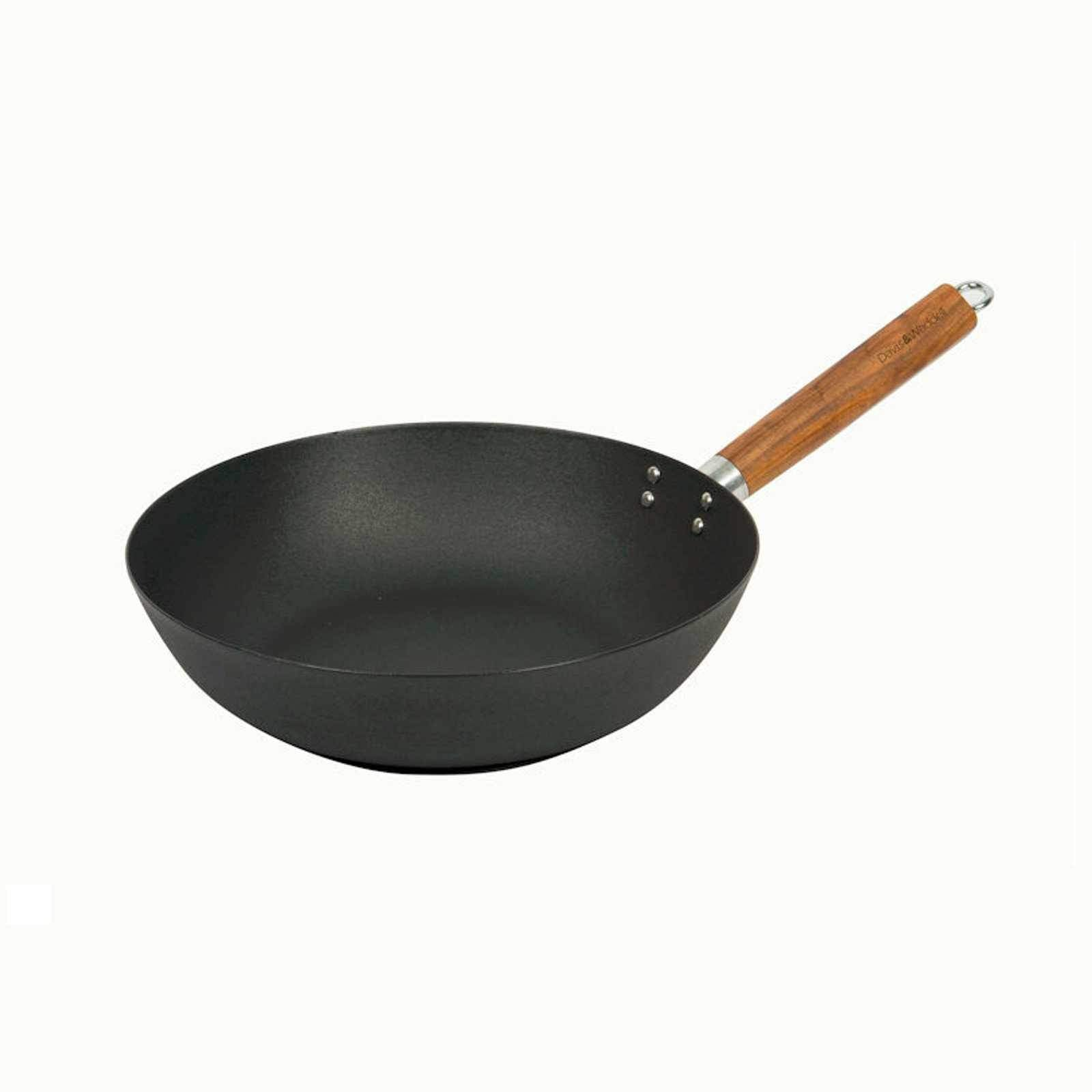 Lotus Rock Carbon Steel Wok 30cm-wok-Chef's Quality Cookware