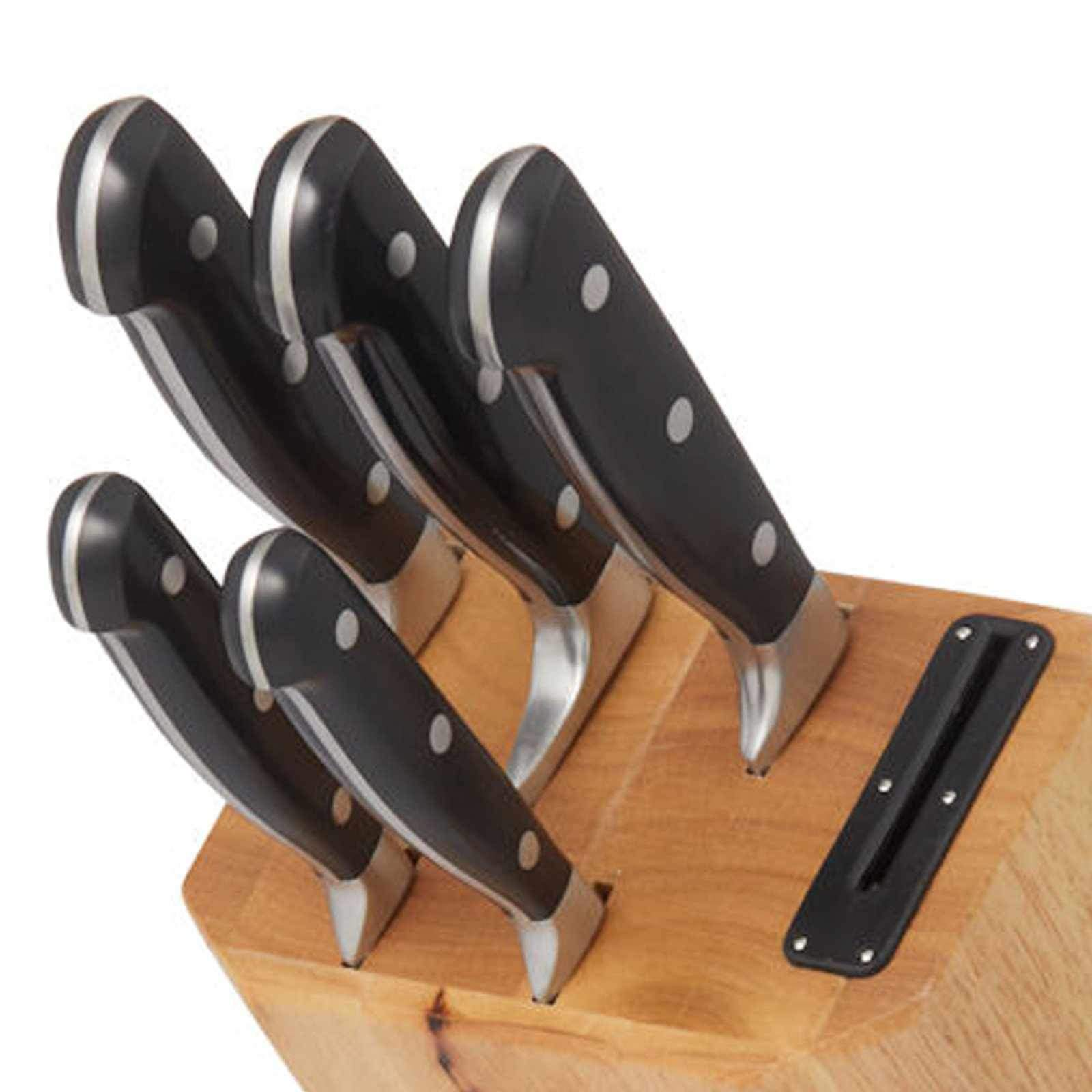 MasterPro Knife Block Set - Professional 6 Pcs Knives Set-knife-Chef's Quality Cookware