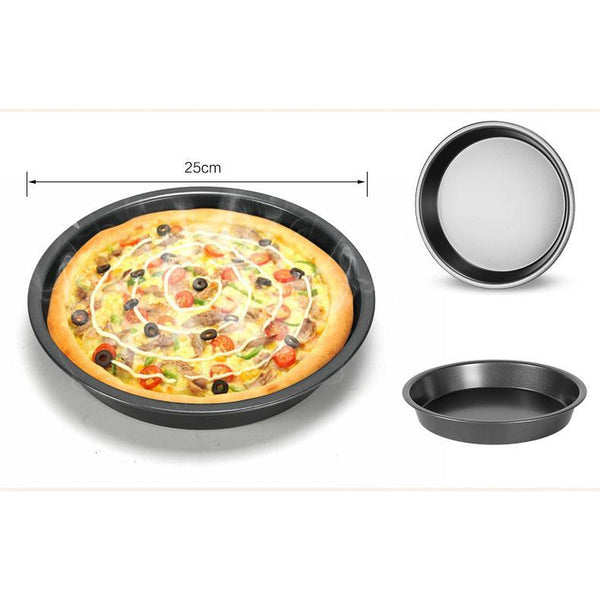Pizza, Bunt Cake, Loaf & Cupcake Carbon Steel Pan Set-Bake Pans-Chef's Quality Cookware