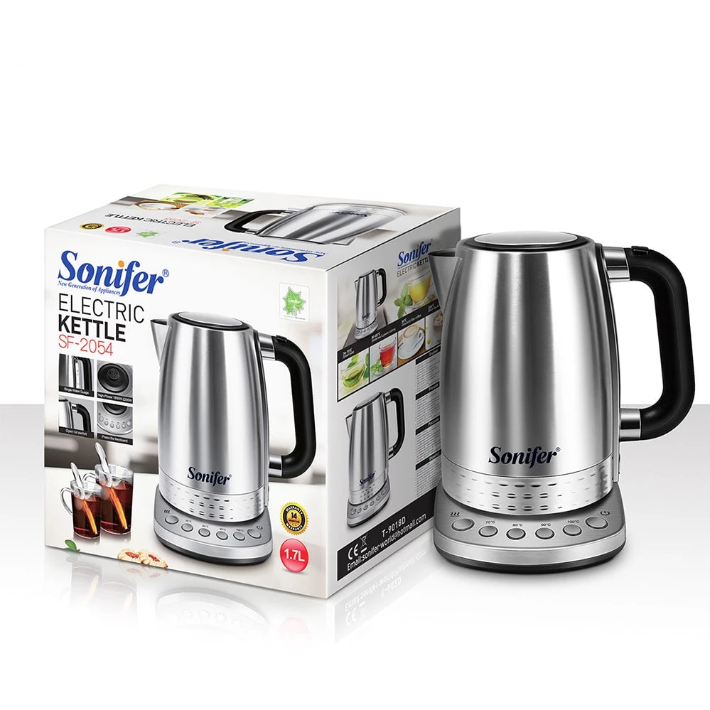 Electric Kettle with Multi-Temperature Control