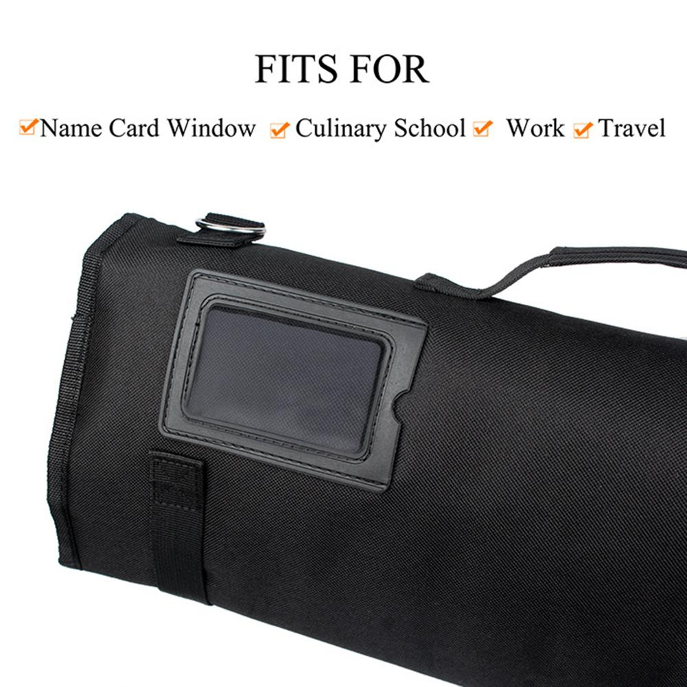 Oxford Knife Bag Roll - Portable Carry Case For Chef's Knives