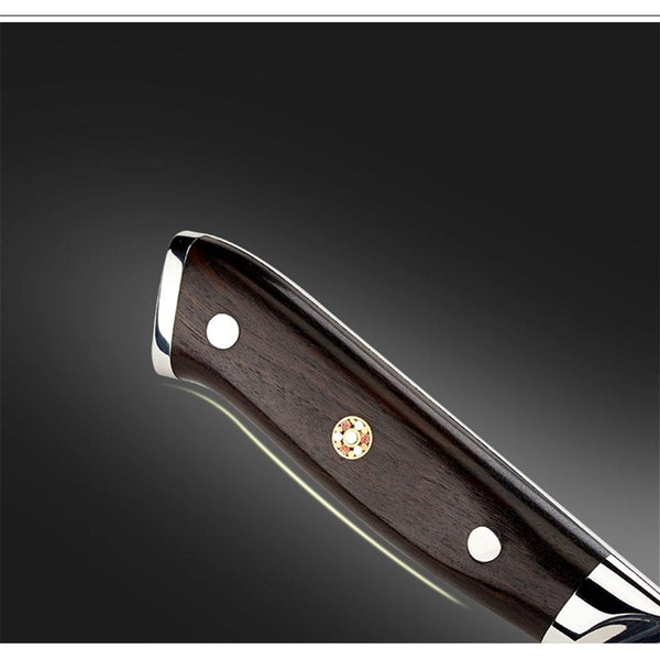 FINDKING Damascus Chef Knife with an Ebony Wood Handle - 8 inch / 20cm-chef knife-Chef's Quality Cookware