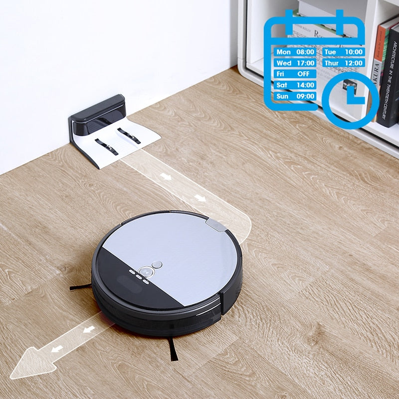 ILIFE V8s Advanced Navigation Robot Vacuum Cleaner - Sweep & Mop with Planned Cleaning