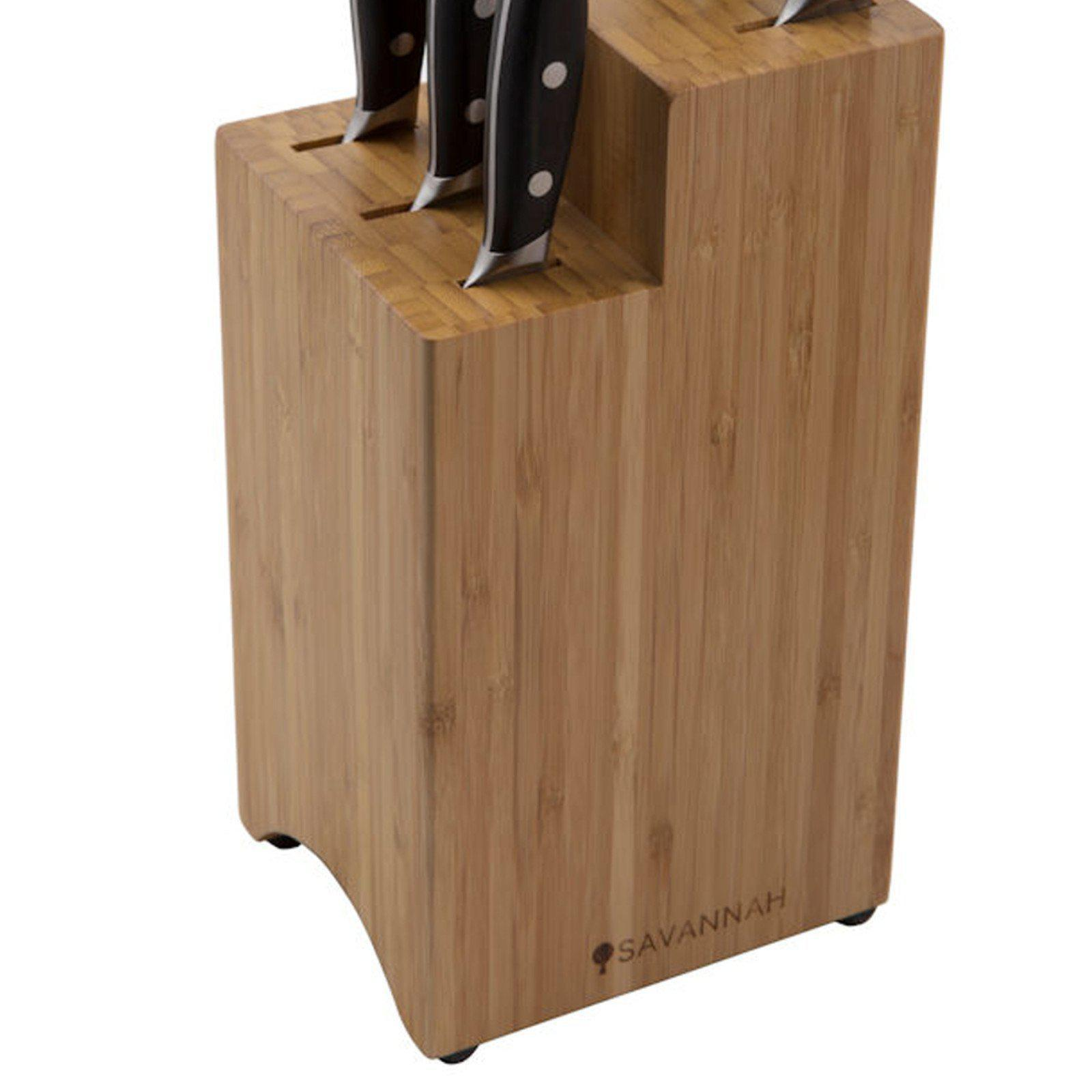 Savannah 7 Piece Professional Knife Block Set-knife-Chef's Quality Cookware
