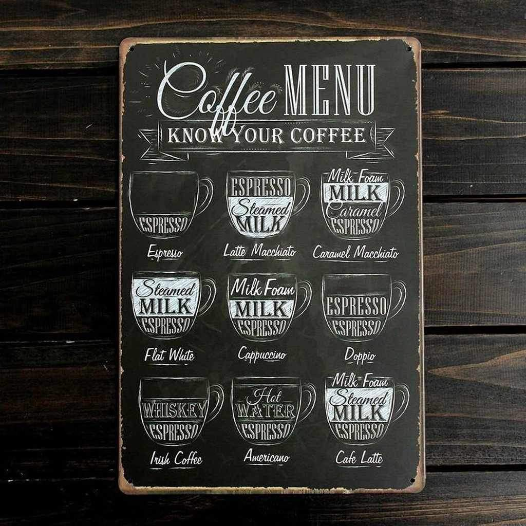 Pick Your Coffee - Retro Metal Wall Art-wall art-Chef's Quality Cookware