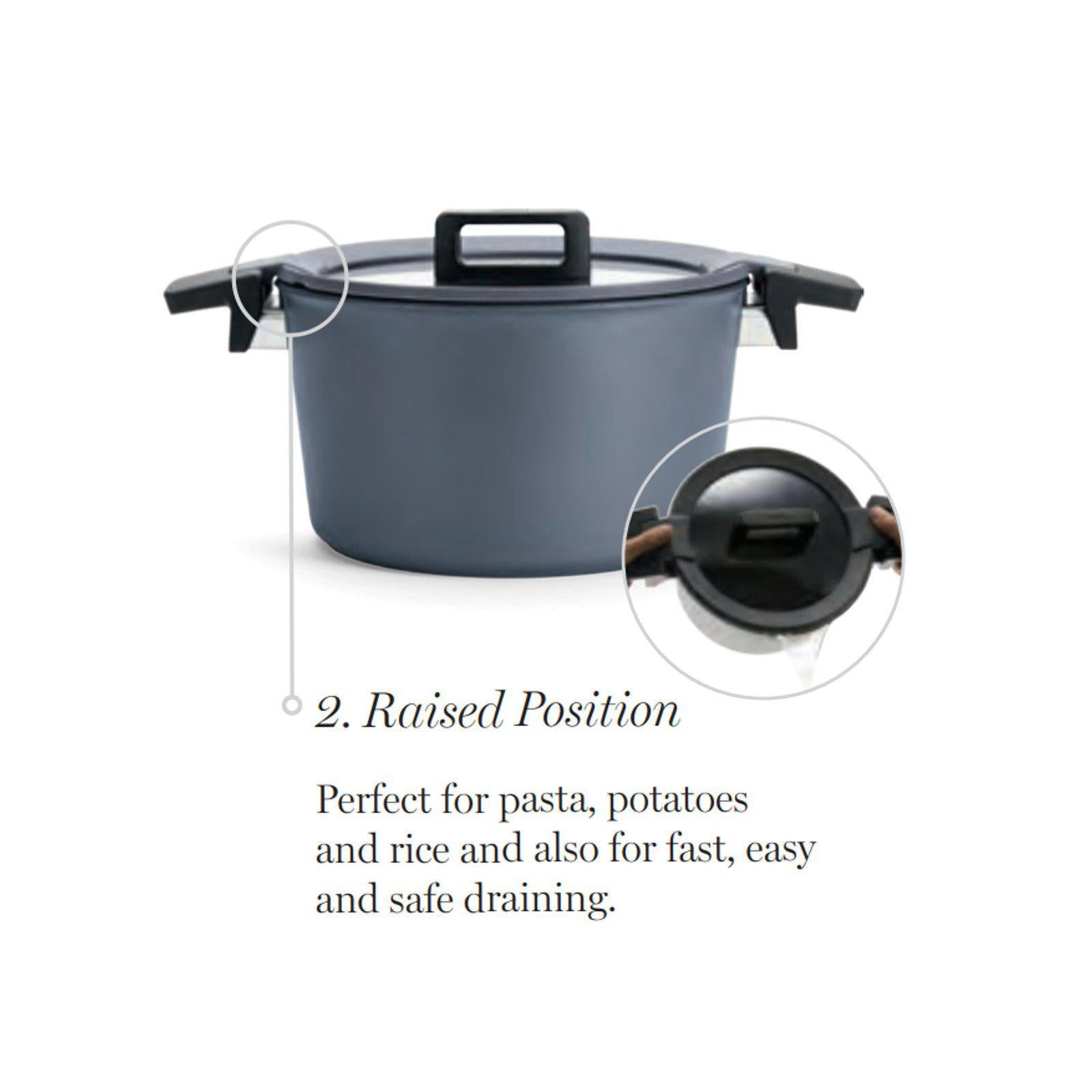 Woll 5 Litre Diamond Concept Plus Induction Casserole Stockpot-casserole-Chef's Quality Cookware