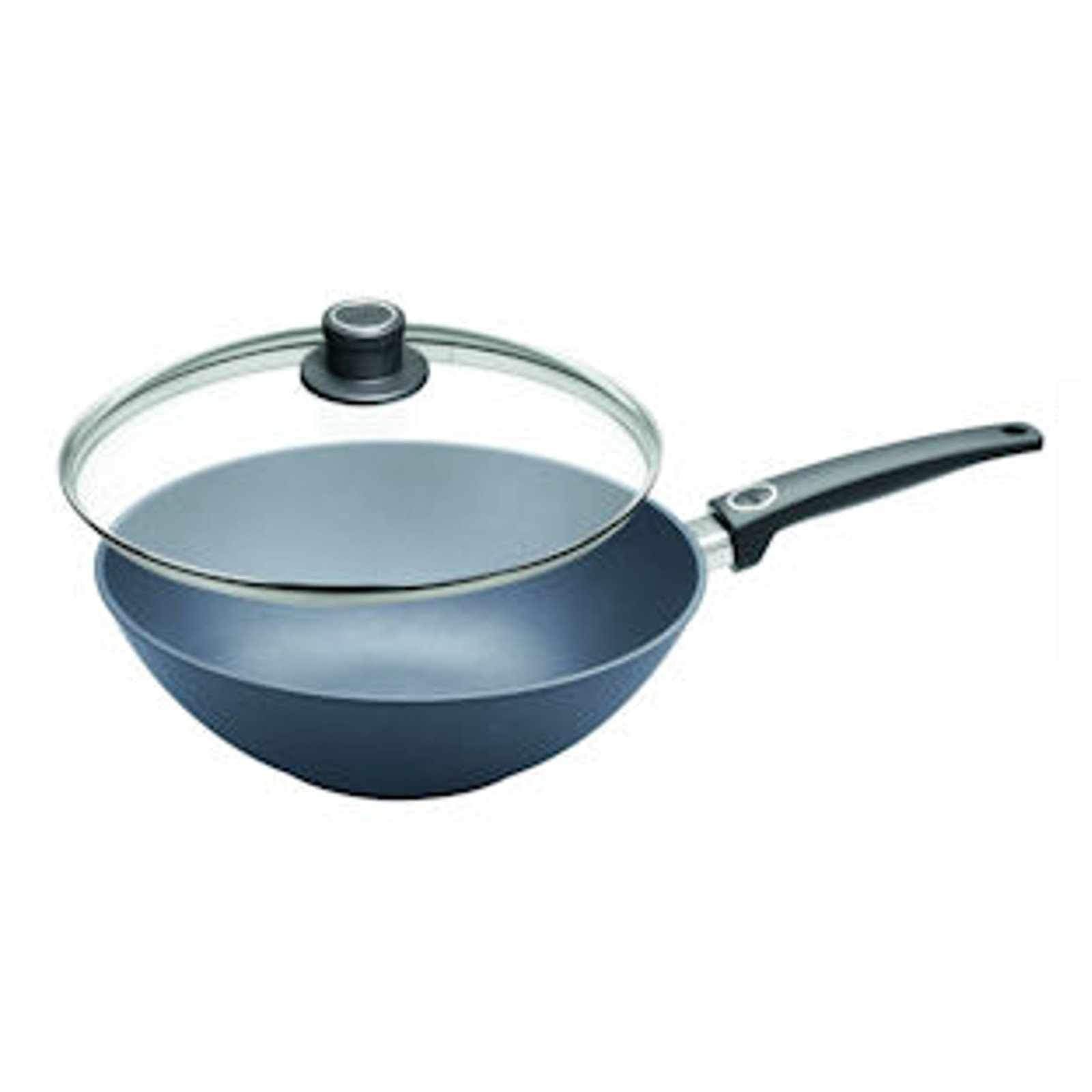 Woll Saphir Lite Induction Wok Pan with Lid 30cm (RRP $320)-wok-Chef's Quality Cookware
