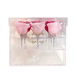 Jewelry Box, For her, Mon Amour, Preserved Roses, useful, drawer