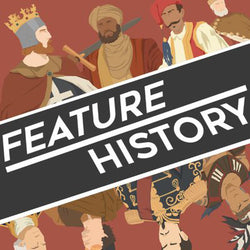 Feature History – Have you ever wanted to learn history from someone wholly unqualified to teach you? Well Feature History has got you covered!