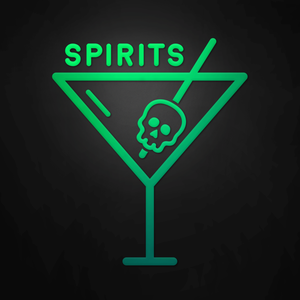 Spirits – A boozy biweekly podcast about mythology, legends, and lore, served over ice.