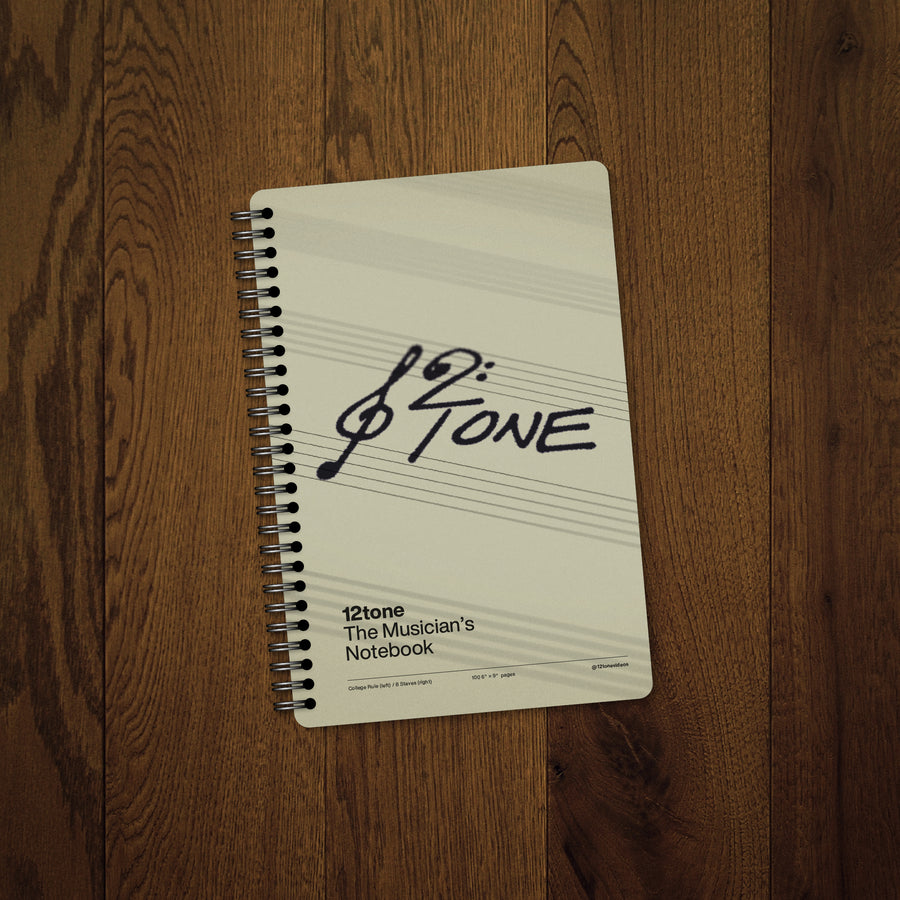 12tone Music Notebook