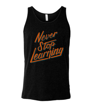 Thomas Frank Never Stop Learning Tank Top