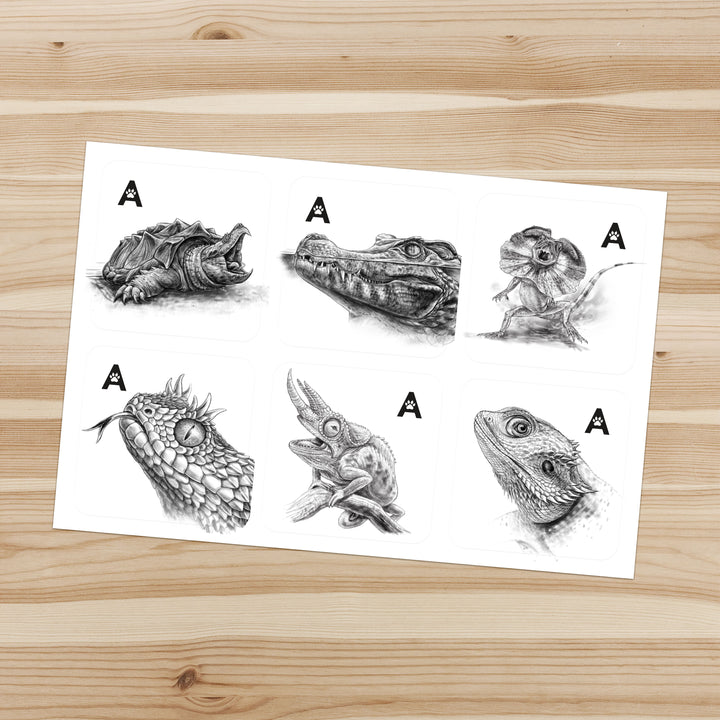 Animalogic Sticker Set