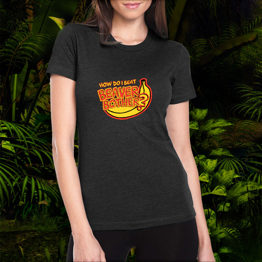 HBomberguy How Do I Beat Beaver Bother Ladies T-Shirt