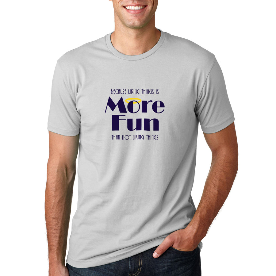 CinemaWins Liking Things Is More Fun T-Shirt