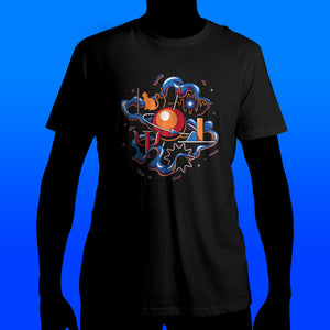 Up and Atom Quantum Mechanics T-Shirt