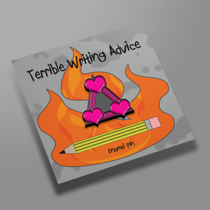 Terrible Writing Advice Pin Bundle