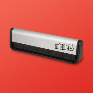 Middle 8 Logo Record Brush
