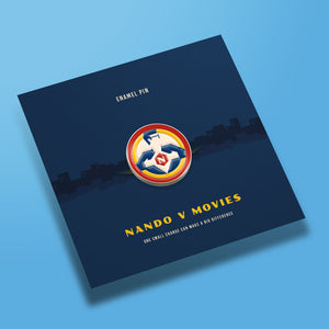 Nando V Movies Logo Pin