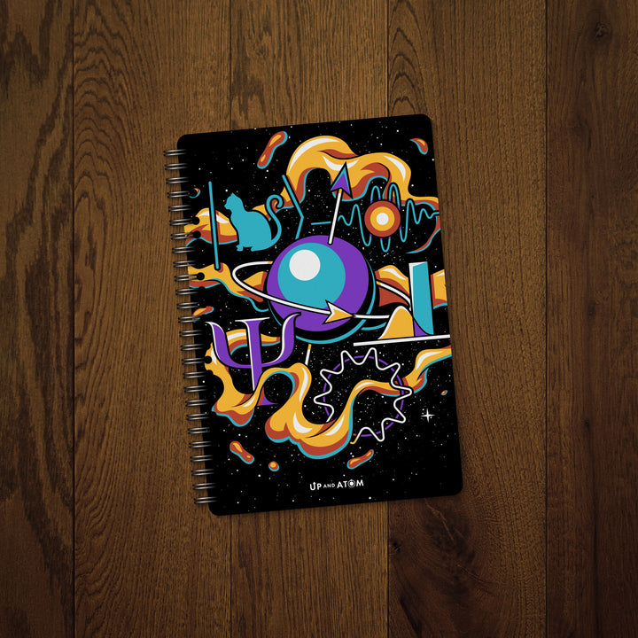 Up and Atom Quantum Mechanics Notebook