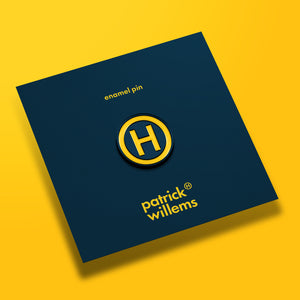 Patrick (H) Willems H Logo Pin