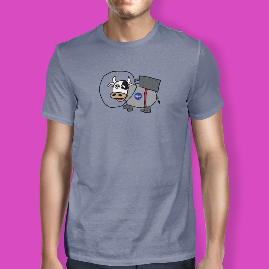 Second Thought Space Cow T-Shirt