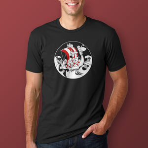 Suibhne Viking Ship T-Shirt