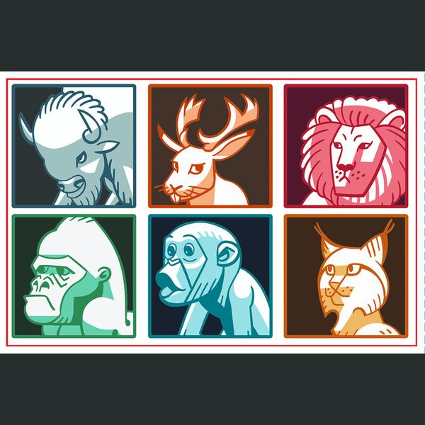 CGP Grey Politics in the Animal Kingdom Sticker Set