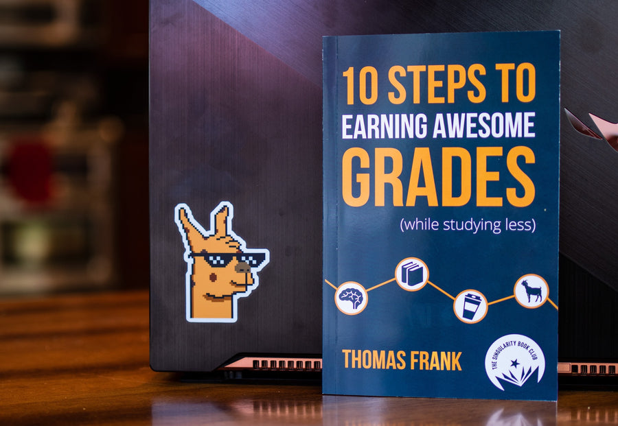 Singularity Edition '10 Steps to Earning Awesome Grades' by Thomas Frank