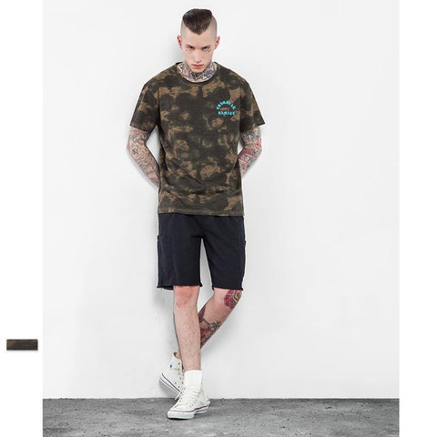 Steezy Stash Camouflage Tee