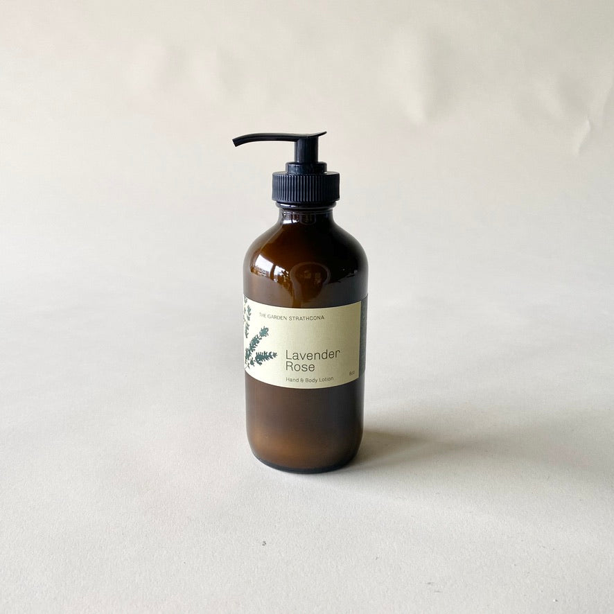 The Garden Lavender Rose Lotion