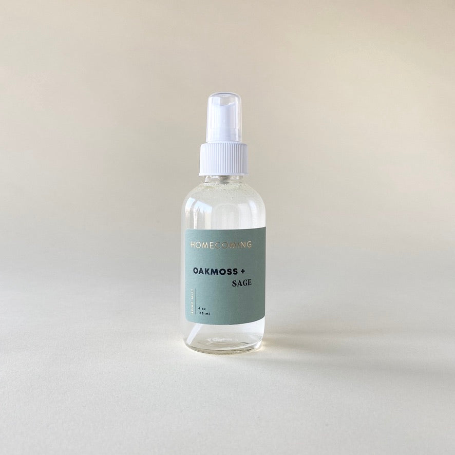 Homecoming Oakmoss & Sage Room Mist