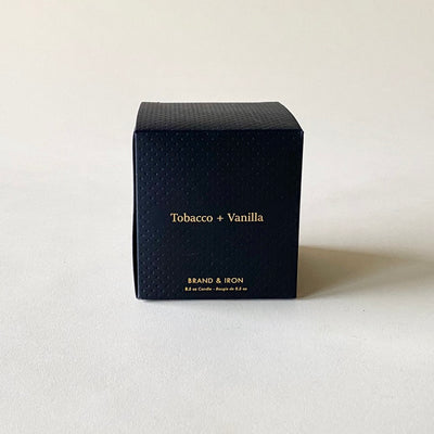 Brand and Iron Tobacco Vanilla Candle