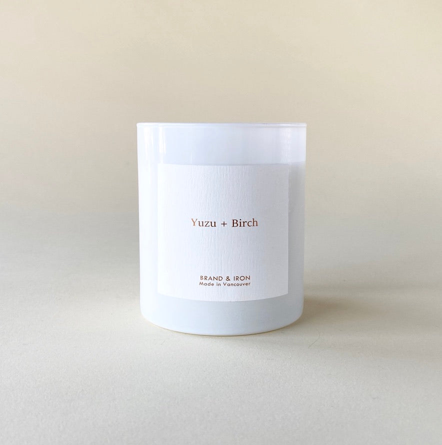 Brand and Iron Yuzu And Birch Candle