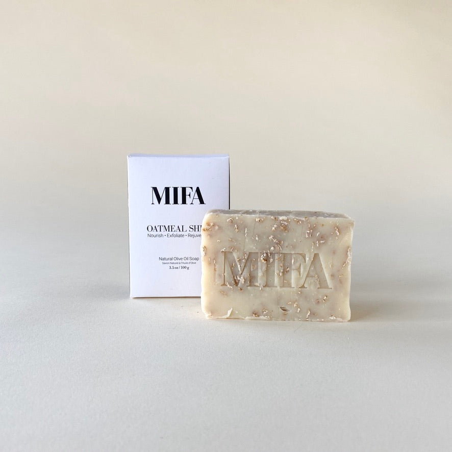 Mifa Oatmeal Shea Soap Bar
