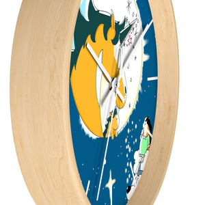 A Moonlit Night Wall Clock