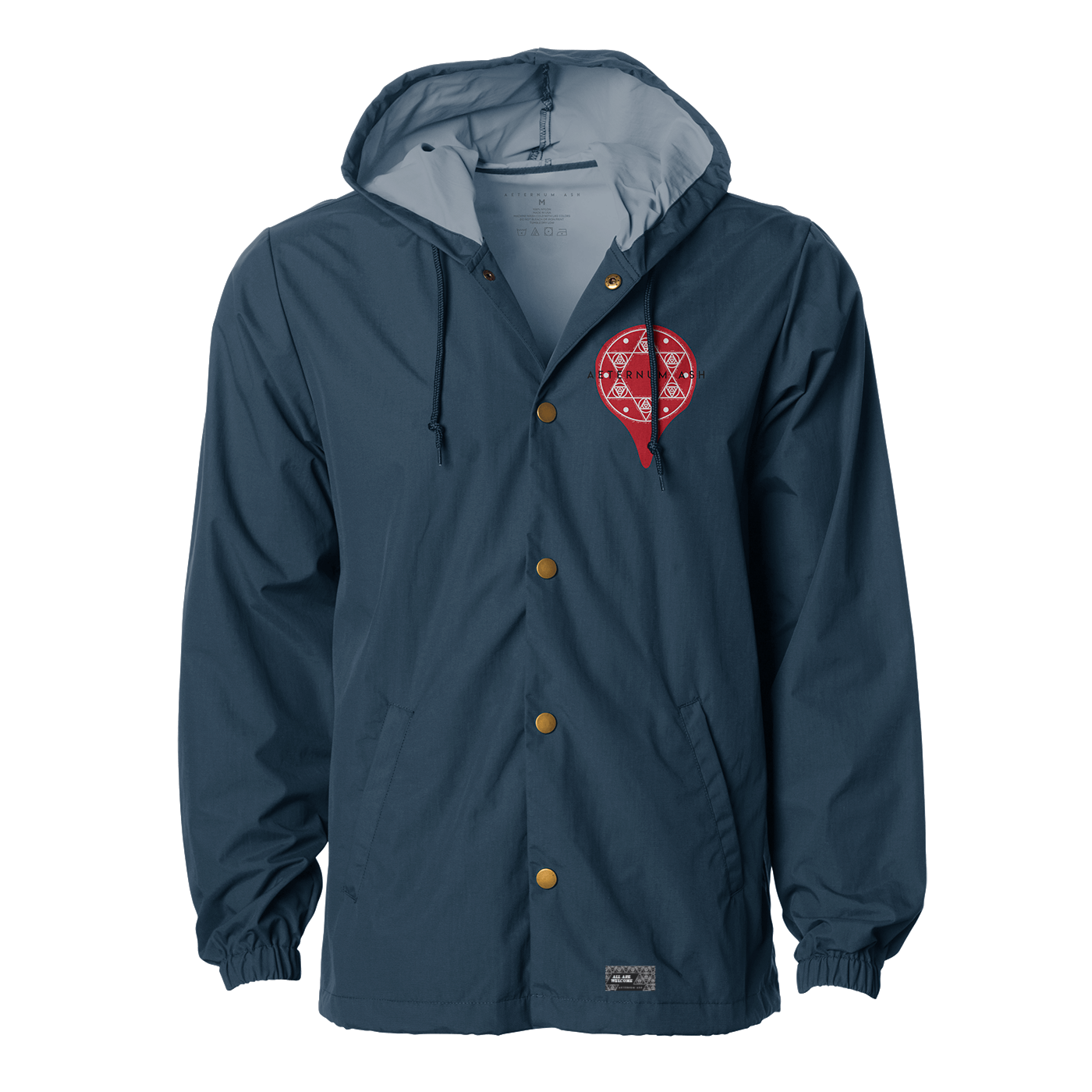 aeternum ash seal of solomon jacket navy