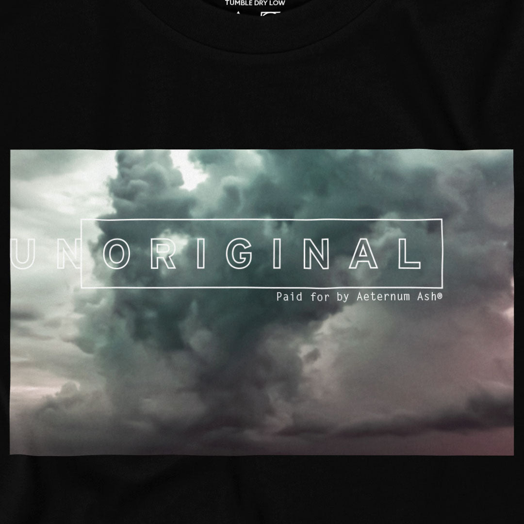 aeternum ash unoriginal tee shirt clouds original