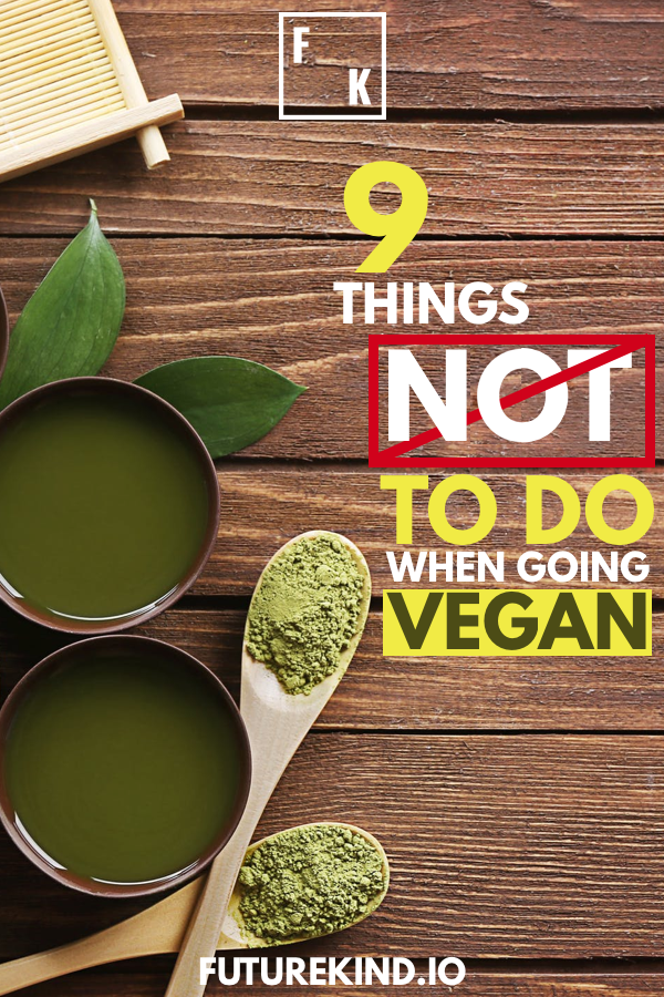 Want to go Vegan? Struggling to get the hang of it? You're not alone. People can find it hard to turn to a vegan diet. If you want to find the easiest way to become vegan, you might want to study healthy vegan recipes and figure out what works for you. This article will take you through some of the big no-no's for a vegan lifestyle. #vegan #govegan #vegans #veganhealth #turnvegan #becomevegan