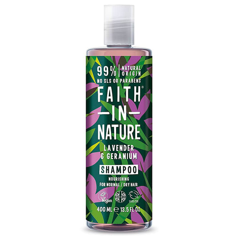 Lavender and Geranium Shampoo and Conditioner by Faith In Nature